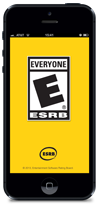 ESRB mobile rating search app for iPhone