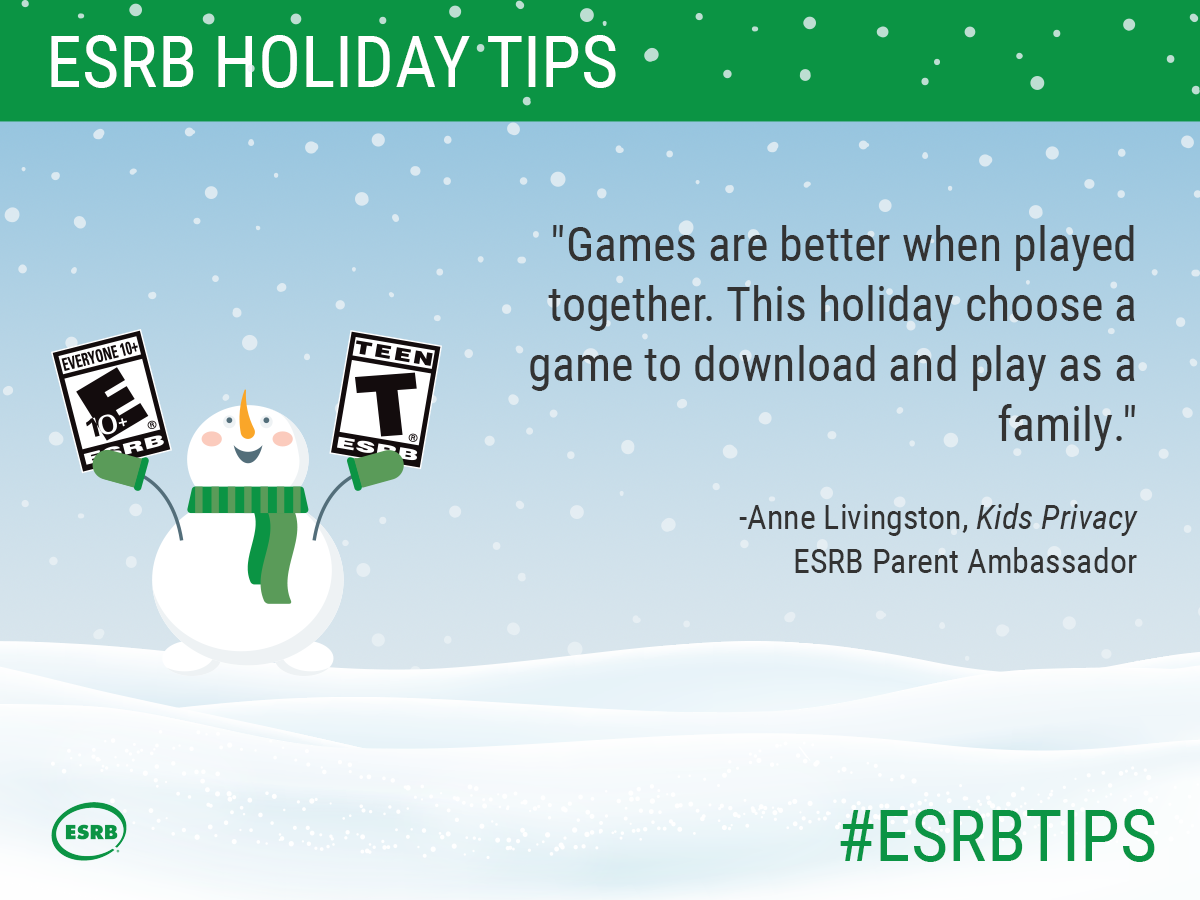 Games are better when played together. This holiday choose a game to download and play as a family.